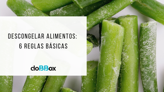 descongelar alimentos